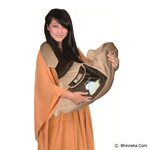 CHINTAKA Gendongan Samping Dwi Fungsi + Saku Bordir [CBG130500B] - Coklat - Carrier And Sling